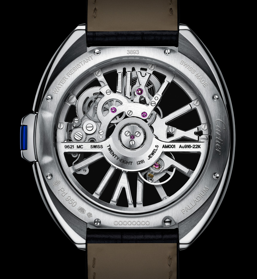 -Cartier-Cle-Skeleton-Automatic-watch-