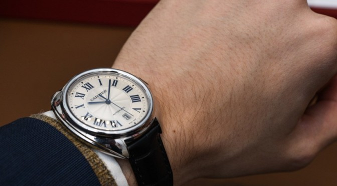 luxury Replica Cartier Clé De Cartier Watch Hands-On