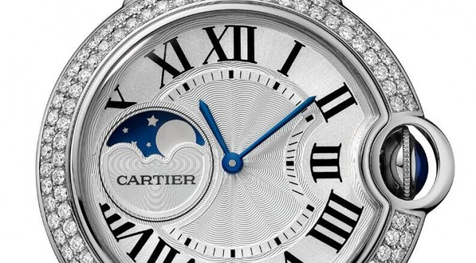 Ballon Bleu De Cartier Moon Phase: Once In A Blue Moon