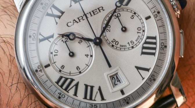 Cheap Replica Cartier Rotonde Chronograph Watches Review