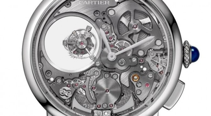 Replica Cartier Minute Repeater Mysterious Double Tourbillon Is The Cat's, Er, Panther's Meow