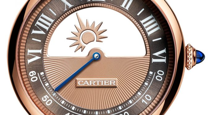 2018 Cartier Rotonde De Cartier Mysterious Day & Nigh Replica Watches