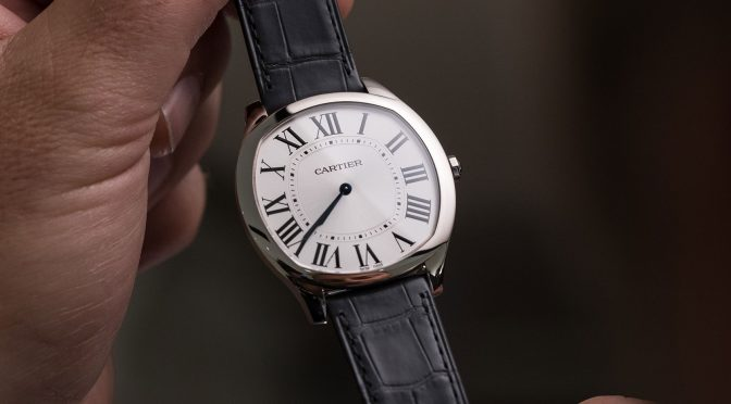 Reviews Drive de Cartier Extra Flat Leather Strap Replica Watches