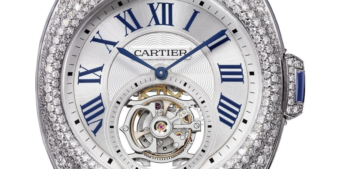 The 35 mm replica Clé De Cartier HPI00933 watches have silver-plated dials.