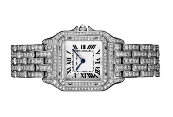 The diamond copy Panthère De Cartier HPI01130 watches are worth for ladies.