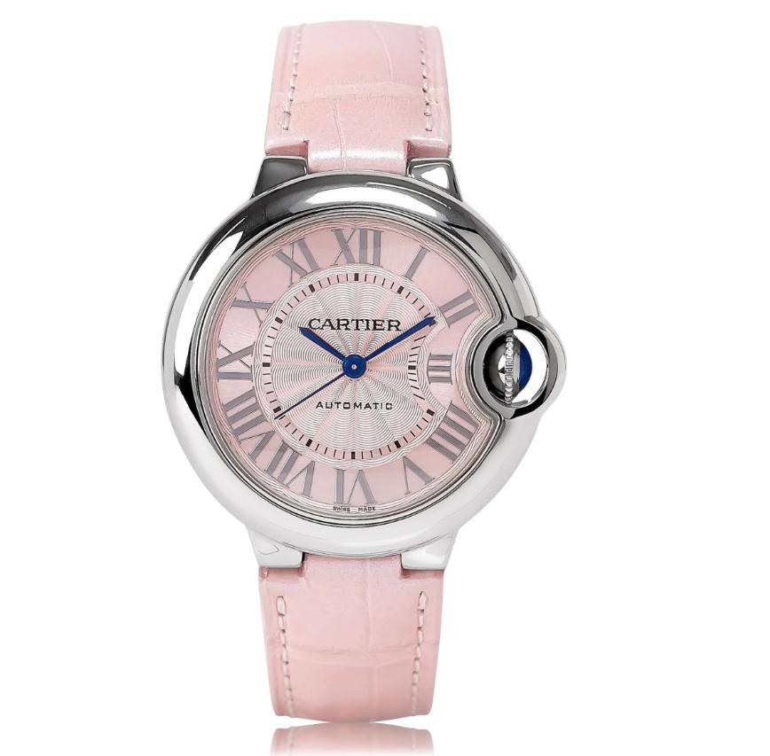 The stainless steel replica Ballon Bleu De Cartier WSBB0002 watches are worth for ladies.