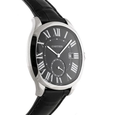 The sturdy replica Drive De Cartier WSNM0009 watches are made from stainless steel.