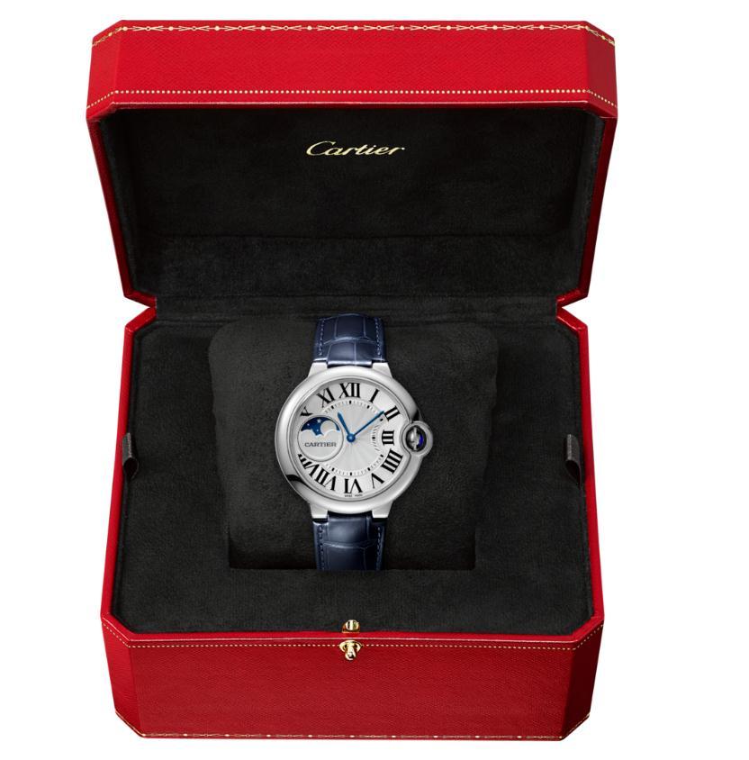 The popular watches copy Ballon Bleu De CartierWSBB0020 are made from stainless steel.
