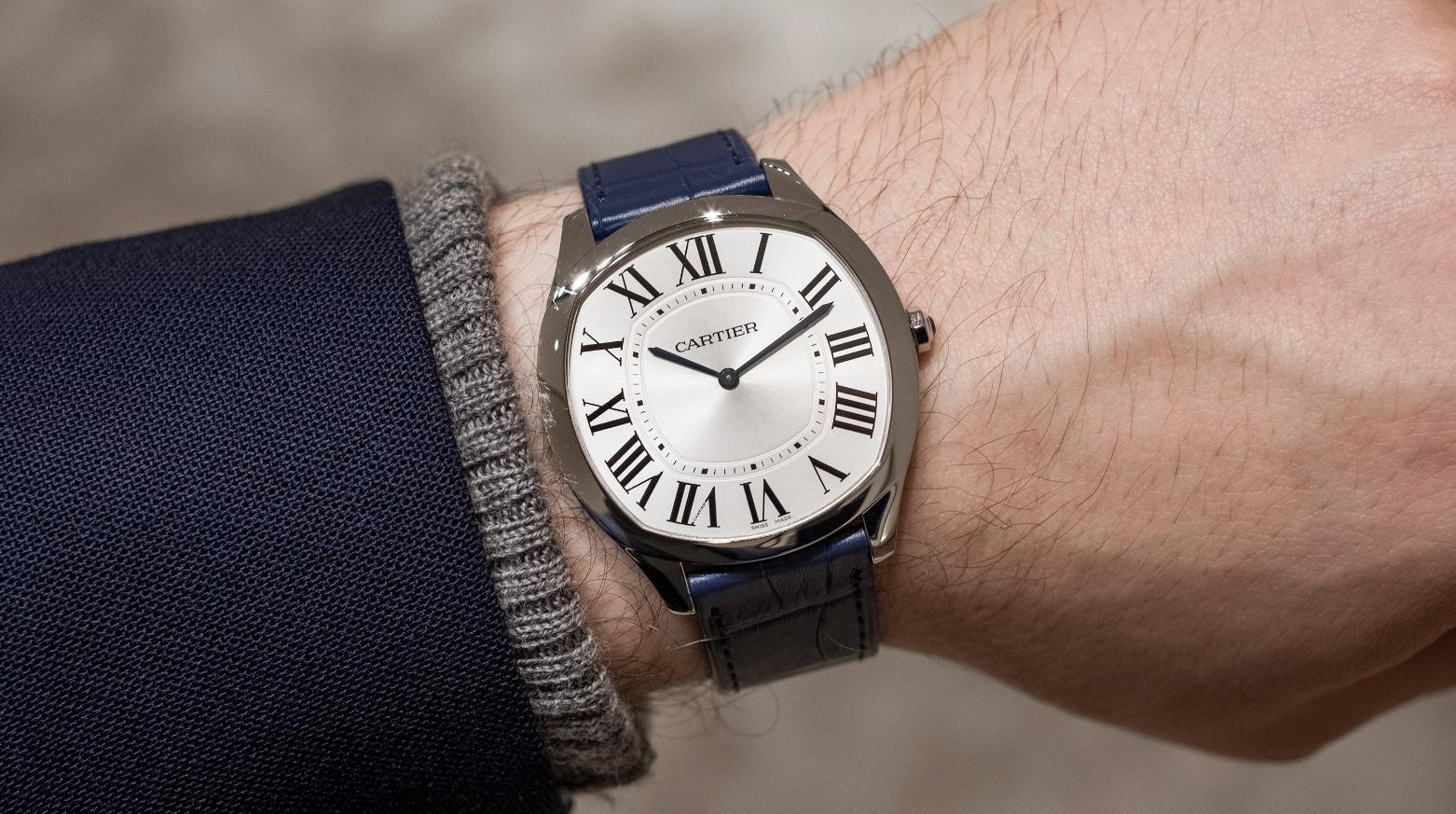 The comfortable copy Drive De Cartier WSNM0011 watches are worth for men.