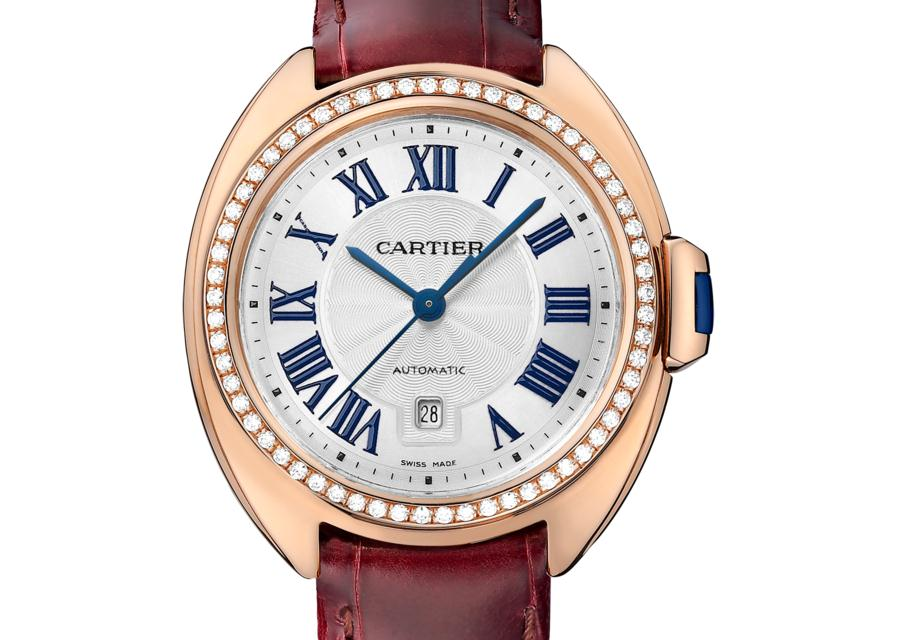 The 31 mm replica Clé De Cartier WJCL0047 watches have silver-plated dials.