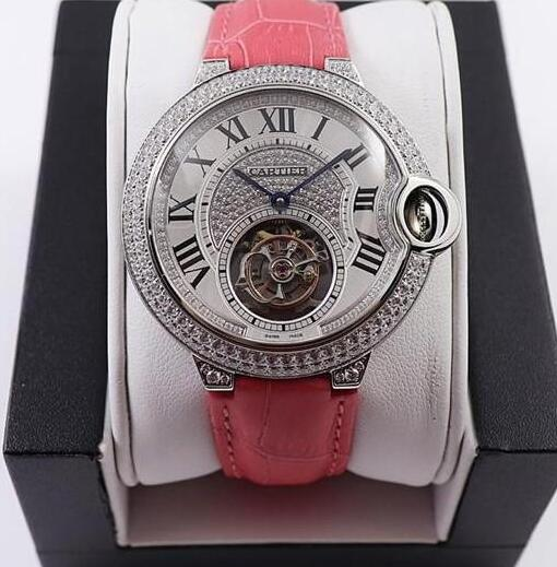 Luxury replica watches demonstrate value with diamonds and white gold.